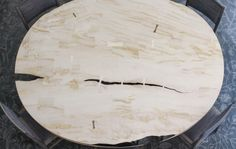 FURNITURE | MAPLE SLAB DINING TABLE | BDDW