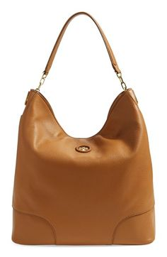 Free shipping and returns on Tory Burch Leather Hobo (Nordstrom Exclusive) at Nordstrom.com. Understated sophistication is the name of the game with this spacious, perfectly slouched hobo bag shaped from lavishly pebbled leather and accented with whipstitched trim encircling a goldtone logo medallion.