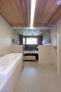 sauna ja kylpyhuone Bathtub, Bathroom, Ideas, House, Standing Bath, Washroom, Bathtubs, Bath Tube, Full Bath