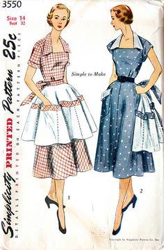 Vintage apron (simplicity)