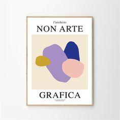 Affiche - Non arte grafica 01