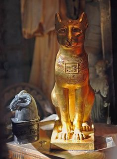 Cats were revered as gods in ancient egypt