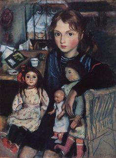 Zinaída Yevguénievna Serebriakova (Rusia, 1884–1967).