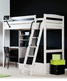 White STORA loft bed from IKEA Kids rooms ikea loft bed ideas Pinterest | Style and Design for a Family Home