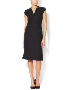 I would get my Claire Underwood on in this. Cotton Suiting Sleeveless Dress by Zac Posen at Gilt