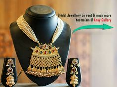 Bridal Jewellery on rent & much more:#Yesmaam @AnayGallery. Date 25 & 26 November Time: 10AM to 8PM Contact No.:09429304291 / 09726012639 #Exhibition #Jewellery #Clothing #YesMaam #AnayGallery #CityShorAhmedabad