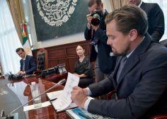 Peña Nieto, Slim y DiCaprio se comprometen a la protección de ecosistemas marinos
