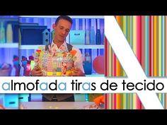 """""""ALMOFADA DE TIRAS DE TECIDO"""" - YouTube"""