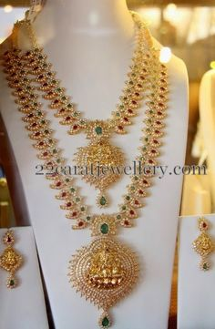 Mango Necklace by Subham Jewellers | Jewellery Designs
