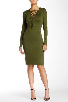 Velvet Torch Midi Dress