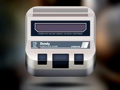 Dendy Icon (NES) by ALEX BENDER
