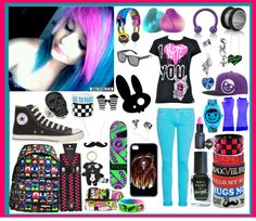 """cos this is so awesome !!!"" by little-cute-emo-fairy ❤ liked on Polyvore"