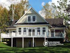 Beautiful panoramic view home (Poconos 1) Plan no. 3914 from DrummondHousePlans