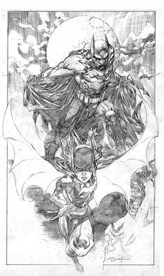 Batman & Batgirl - penciller Ardian Syaf