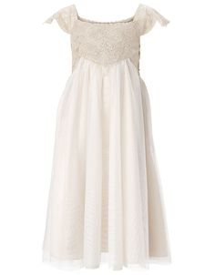 Estella Sparkle Dress | Gold | Monsoon...comes in Ivory, gold & pink / sizes 3 yrs. to 13 yrs. / very pretty!!