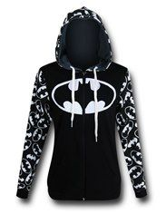 Batman Reversible Women's Hoodie