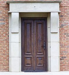 1000 images about front doors on pinterest wood entry for Narrow exterior french doors