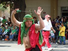 Could it be Sinbad in Savannah...?!  No its a member of the Shriners...!