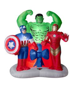 Loving this Avengers Assemble Airblown Inflatable Lawn Décor on #zulily! #zulilyfinds
