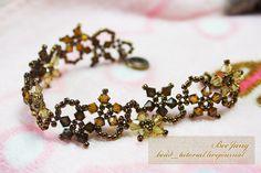 Floral Autumn Fantasy Bracelet tutorial