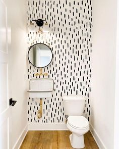 Advice, formulas, plus overview in the interest of obtaining the greatest end re… – Home living color wall treatment kitchen design Upstairs Bathrooms, Bathroom Small, Bathroom Modern, Wallpaper Accent Wall Bathroom, Small Toilet Room, Baby Bathroom, Bathroom Gray, Simple Bathroom, Bathroom Ideas