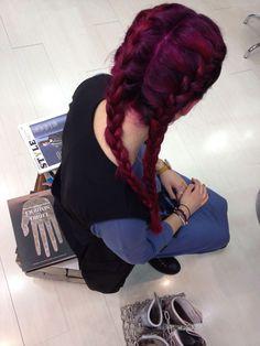 Violet hair   www.edensalon.it