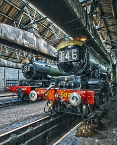 """""""Steam Locomotive HDR II"""" by Simon Lawrence"""