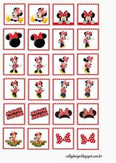 Quebra Cabeça e Jogo da Memória Personalizados para Imprimir - CALLY'S DESIGN-Kits Personalizados Gratuitos Mickey E Minnie Mouse, Mickey Mouse Clubhouse Birthday, Mickey Mouse Birthday, Disney Mickey, Mickey Mouse Wallpaper Iphone, Disney Classroom, Disney Coloring Pages, Mickey And Friends, Disney Crafts