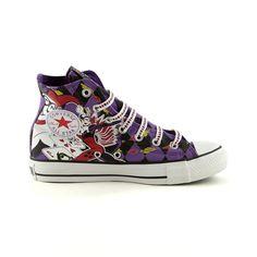 Converse All Star Hi Harley Quinn Athletic Shoe, Harley Quinn Journeys Shoes