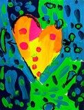 Artsonia Art Exhibit :: Jim Dine Heart -3