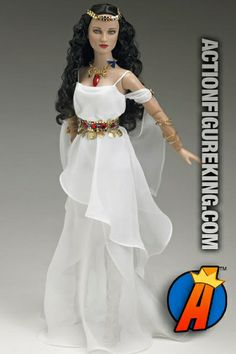 """DC Stars Amazon Princess Wonder Woman 16"""" dressed figure from Tonner is a 250-piece limited edition. #amazonprincess #wonderwoman #tonnerdolls"""