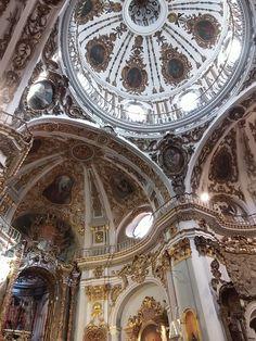 Interior de la Iglesia de los Mártires, Málaga  - España