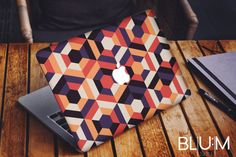 Colorful Geometric Macbook Decal $21 // Etsy