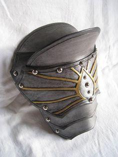 leather pauldron armour