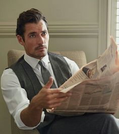 #New || David Gandy for London Sock Co. by Philip Panting