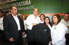 El Gobernador Ruben Moreira impulsa apertura de carrera de Gericultura en la UTC.