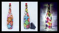 Image result for glass painting bottles