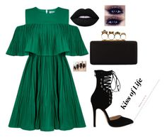 """""""Untitled #4"""" by look-like-good ❤ liked on Polyvore featuring Jovonna, Alexander McQueen and Lime Crime"""