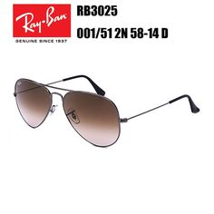 95772bcfaa2 Ray-Ban AVIATOR LARGE METAL RB3025 001 51 2N 58-14 D Cheap