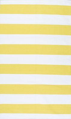 Hailey Yellow/White Area Rug