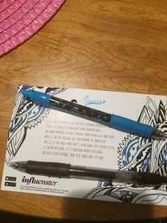 Received these Pilot G2 pens complimentary for reviewing in my #B2SVoxBox from #influenster!!!