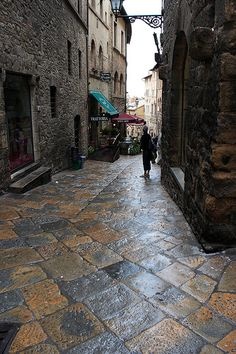 """""""Around Tuscany - 10 magical towns:  4) Volterra, Pisa – A typically medieval city but with many Etruscan characteristics, this is a unique place. Its austerity is puzzling, and the best way to see it is by taking long walks to discover its hidden areas."""