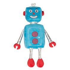 robot, juguetes Casaideas // robot stuffed toy