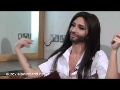 Eurovision Ireland Interviews Ms Conchita Wurst (Austria Eurovision from November such a sweet and cute interview, Conchita is amazing ♥ Eurovision 2014, All You Need Is, Let It Be, Gender Binary, Interview, November 2013, Drag Queens, Austria, Divas