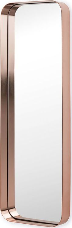 Alana Dress Mirror 40 x 120cm, Copper from Made.com. NEW What's not to love about the metallics trend? It complements so many colour schemes and sty..