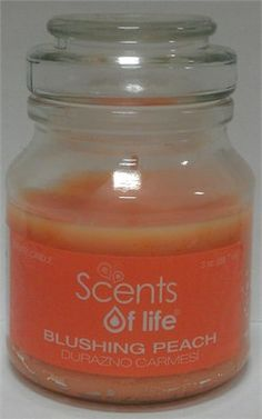 Blushing Peach scented Apothecary Candle is a must have this summer/spring. You just can't say no to a scent of a blend of strawberry, peach and vanilla, its not your typical peach.