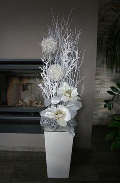 Luxusní vánoční dekorace s magnoliemi / Zboží prodejce jircice | Fler.cz