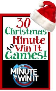 christmas games Christmas / Holiday theme Minute to Win It Games Xmas Games, Holiday Party Games, Xmas Party, Holiday Fun, Group Christmas Games, Fun Games, Christmas Parties, Holiday Ideas, Family Christmas Activities