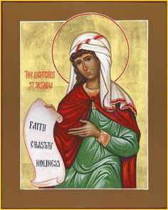 The Holy Martyr Susanna the Virgin, and those with her (295-296)