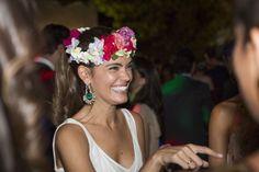 Corona de flores de Suma Cruz